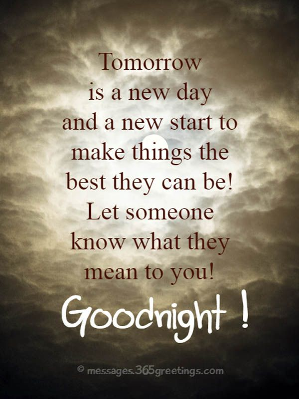 Goodnight Quotes and Sayings | Good night messages, Night ...
