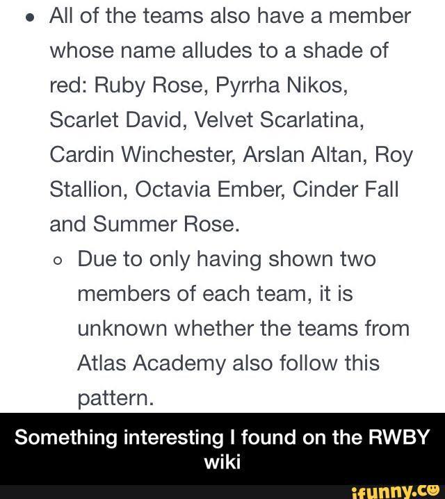 Something interesting I found on the RWBY wiki