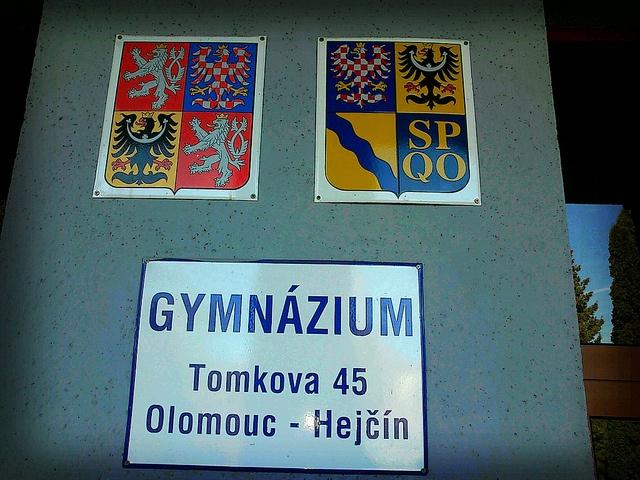 Můj gympl v Olomouci