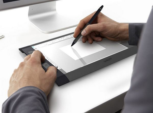 Wireless Multitouch Wacom