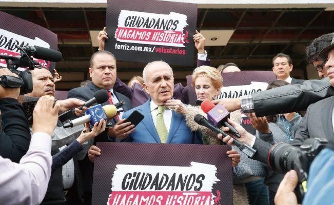 Pedro Ferriz se inscribe como candidato presidencial independiente | El Puntero