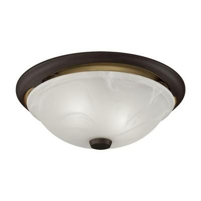 NuTone Decorative Oil Rubbed Bronze 80 CFM Ceiling Exhaust Bath Fan Alabaster Glass with Light ENERGY STAR-772RBNT at The Home Depot