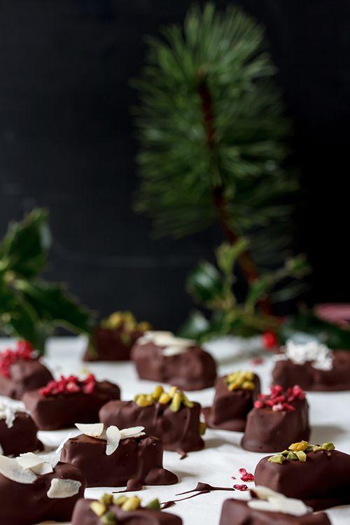 Amalie loves Denmark Weihnachtskonfekt mit Marzipan und Schokolade