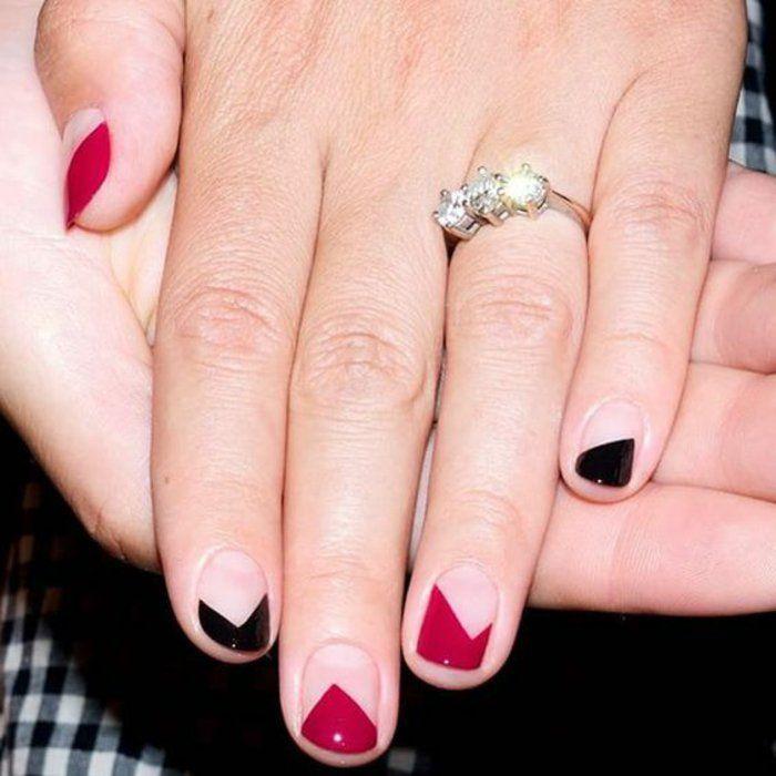 89 best images about fingern gel bilder nageldesign french n gel bilder on pinterest. Black Bedroom Furniture Sets. Home Design Ideas