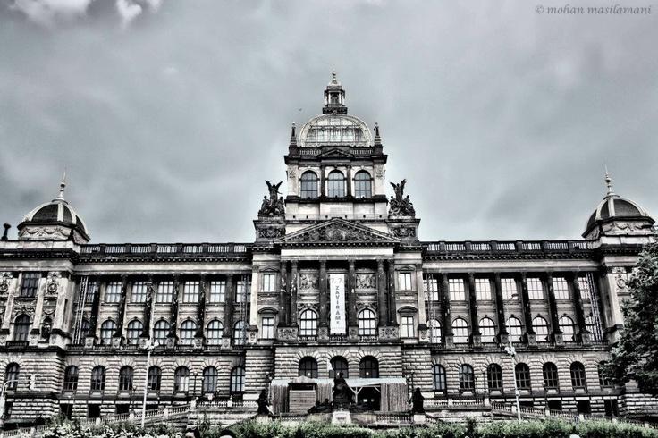 Shot of Prague, Muzeum- Czech Republic #photography #praha #cz #prague