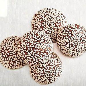 Chocolate Sesame Cookies