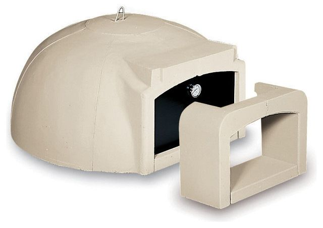 "Wood Fired Modular Pizza Oven Kit for Outdoor Kitchen or Indoor Use, 31.5""-47.3"" contemporary-outdoor-pizza-ovens"