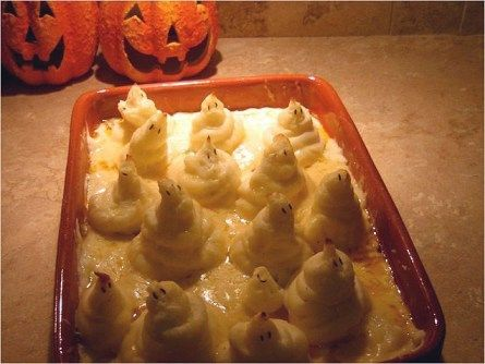 sheppie 636 Virtual high fives go to anyone who can recreate these Halloween themed meals.