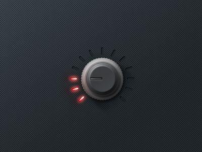 Dials & Knobs found in User Interfaces / Design Tickle