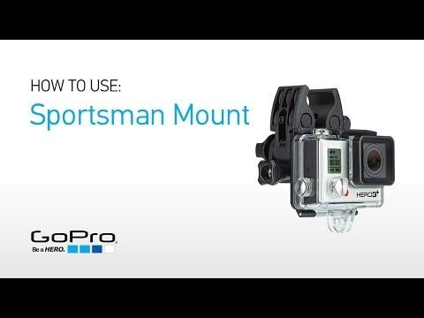 GoPro - Sportsman Mount - GoPro gun, fishing rod, bow mount