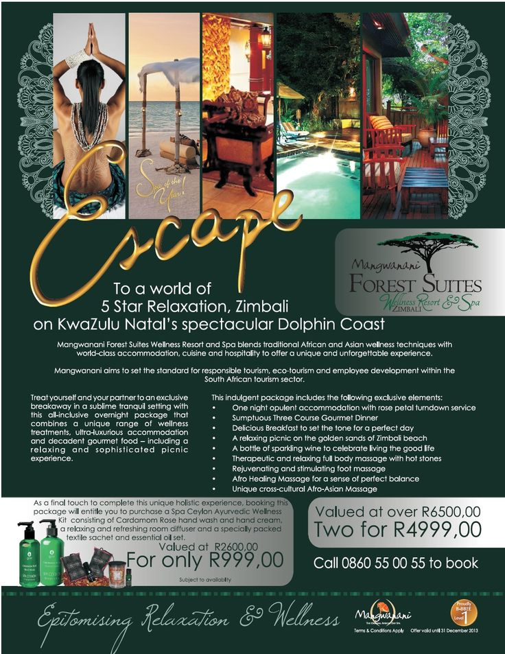 Advert published in Think Sales Magazine; Client: Mangwanani African Day Spa (South Africa)  Need similar (or other copywriting/web content) work done?  Contact me - darrell@wordtiffiie.co.za  #wordtiffie