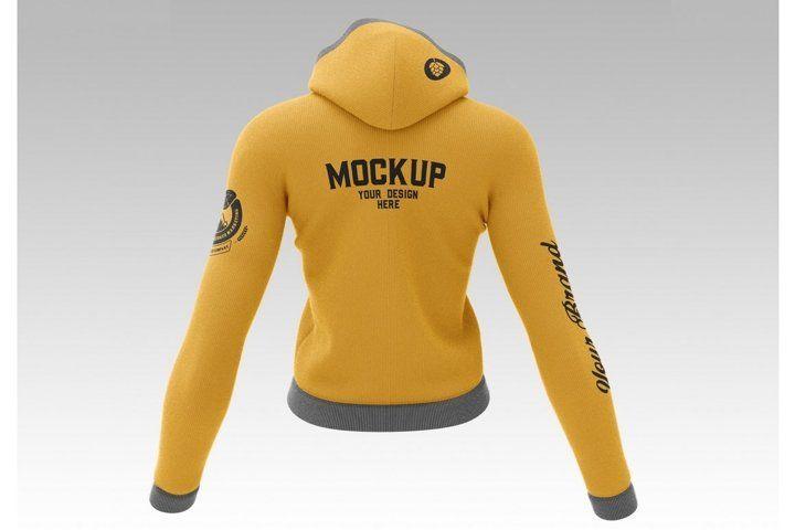 Download Hoody Sweatshirt Hoodie Clothes Mockup Jacket Template Female Sleeve Sport Hoodie Mockup Sweatshirts Women Womens Sweatshirts Hoods