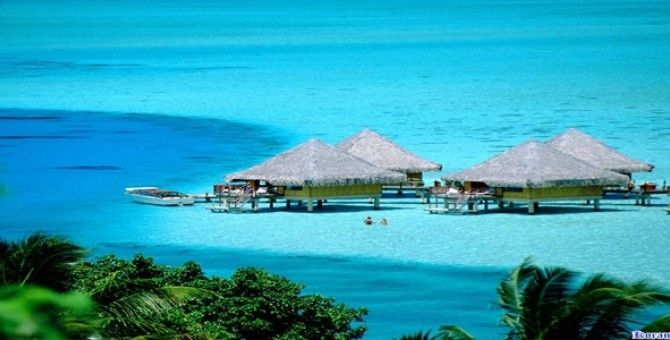 Places Of Interest At The Cool Weekend island of Bora-Bora French