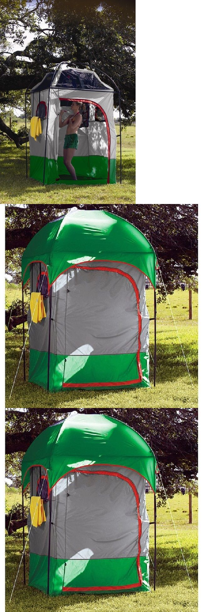 Portable Showers and Accessories 181396: Portable Shower Camping Camp Solar Curtain Privacy Shelter Tent Outdoor Changing -> BUY IT NOW ONLY: $119.54 on eBay!