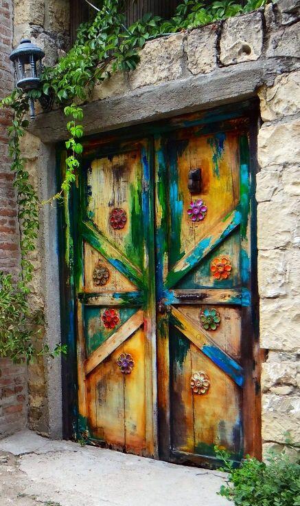 ♪ Puerta en Yeşilyurt en Balıkesir, Turquía