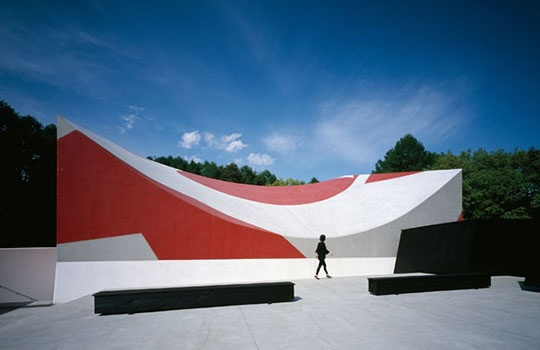 The Nakamura Keith Haring Collection Museum in Kobuchizawa. (Arch. Atsushi Kitagawara)