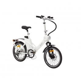 Les VeloSolex, ou comment adapter l'idée du Solex et la remettre au goût du jour. Ici la version vélo électrique pliant.