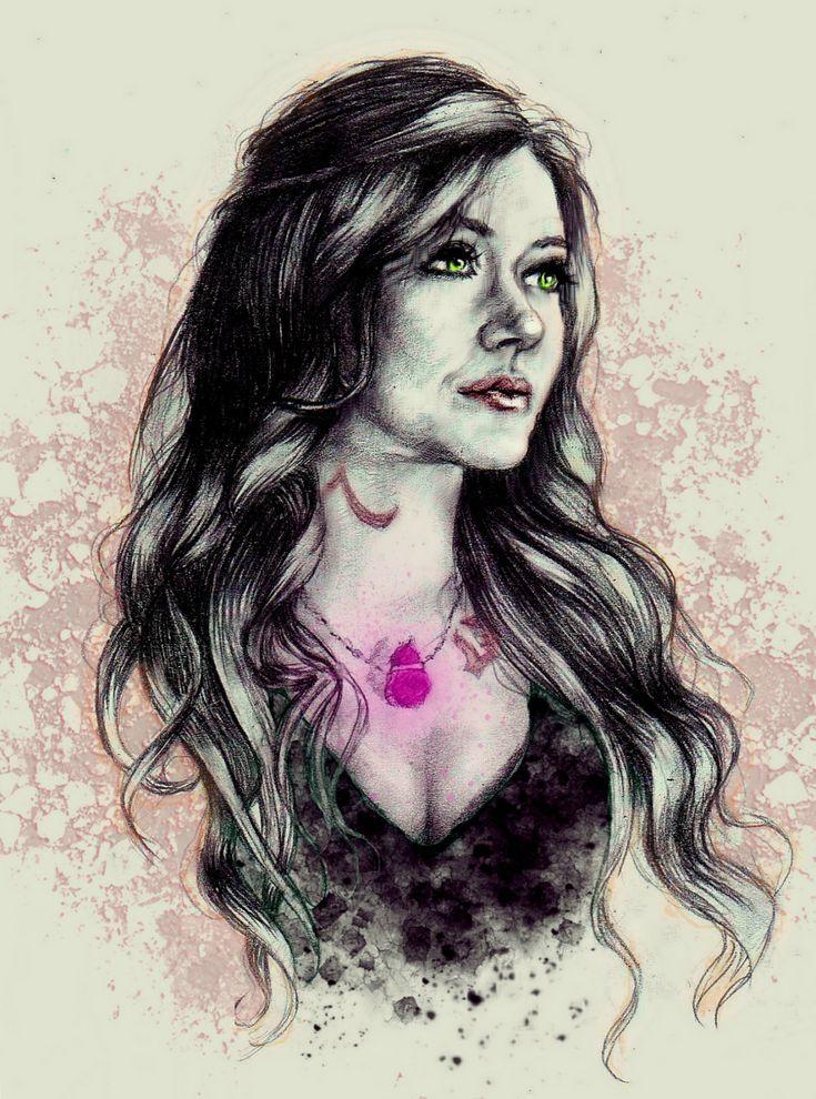 Katherine McNamara as Clary Fray by victoriakarmanova | TMI Shadowhunters