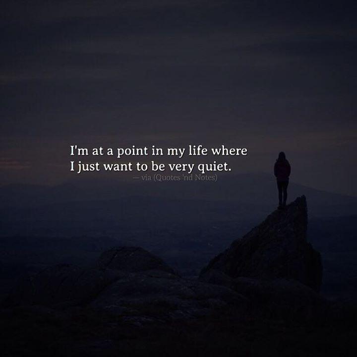 I'm at a point in my life where I just want to be very quiet. via (http://ift.tt/2lVCUdq)