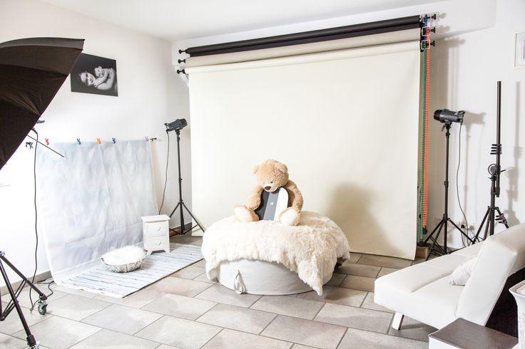 Studio per sessioni fotografiche per mamme e bambini Beanbag, copertine, teli, accessori di vario genere per neonati e bambini. Siamo Bimbi di Liliana Cantù