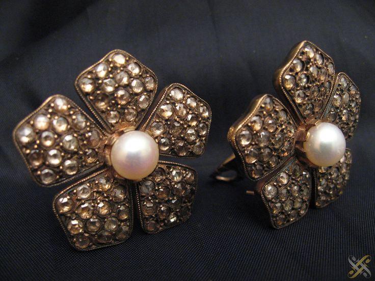 Vintage σκουλαρίκια - earings with Pearls by John Jbeili