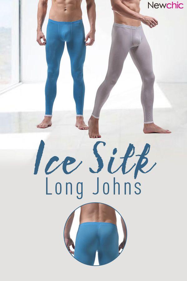 b01c9a7d49 Ice Silk Long Johns Super/Underwear /Sleepwear Bottoms #fashion  #mensfashion #menswear