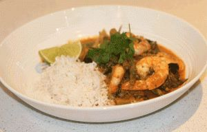 Best Thai red prawn curry! So easy to make. Click through for the recipe on my blog at: lifestyleredesign.com.au