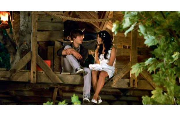 Zac Efron  Where: The film High School Musical 3: Senior Year  When: October 24, 2008
