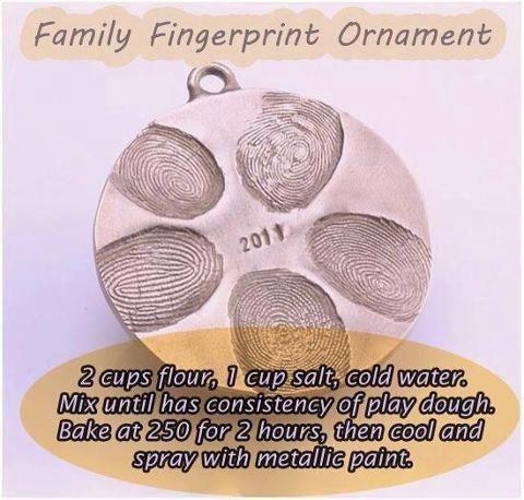Family Fingerprint Ornament http://alancosimpleliving.wordpress.com/2013/04/05/family-fingerprint-ornament/