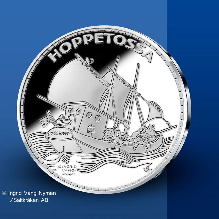 Hoppetossa - Pippi Långstrump Silvermedaljer