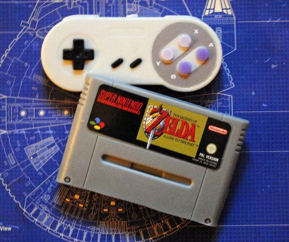 SNES Super Nintendo Cart Soap: Retro and geeky by NerdySoap