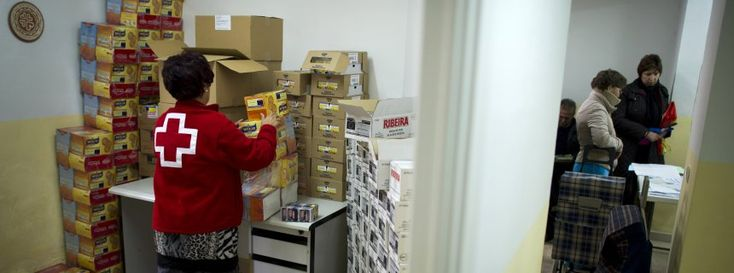 Millions of Europeans Require Red Cross Food Aid