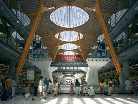 T4 - Madrid Barajas Airport | Rogers Stirk Harbour + Partners, Estudio Lamela