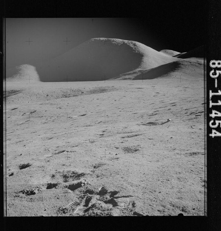 Apollo 15 Hasselblad image from film magazine 85/LL - SEVA, Pre-EVA-1, EVA-1 & 2
