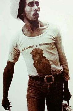 Bob Marley during the RastaMan Vibration Tour, 1976