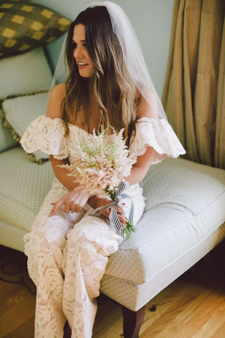 Wear the Pants: The Bridal Jumpsuit Trend | Apartment Therapy