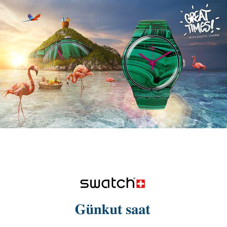 Hayatın ritmini Swatch – Exotic Charm ile yakalayın! Ürünümüzü incelemek için; http://bit.ly/swatch-exotic-charm