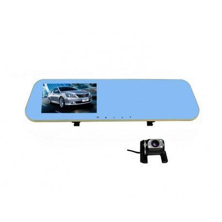 Camera auto oglindă dublă L856 reprezintă un gadget extrem de interesant şi de accesibil, util în maşina oricărui şofer. Reprezintă o oglindă auto ce integrează douăcamerefoto/video, precum şi un generos display de 4.3 inch în …