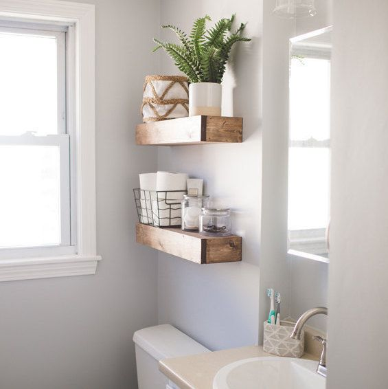 Diy Floating Shelves For Bathroom: Best 25+ Walnut Floating Shelves Ideas On Pinterest