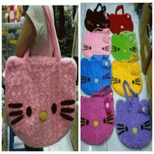 TAS HELLO KITTY BULU MAWAR SNAIL