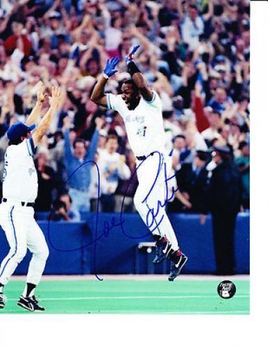 Joe Carter Signed 8x10 Photograph - Sports Memorabilia