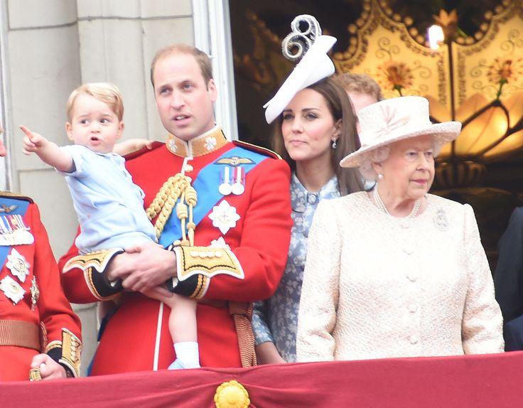 Kate Middleton, Prinz George & Co.: Britische Royals feiern Geburtstag der Queen