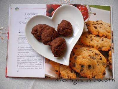 Montagne di biscotti: Cookies zenzero e cioccolato.