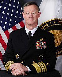 EEUU: jefe de Operaciones Especiales/Admiral William H. McRaven