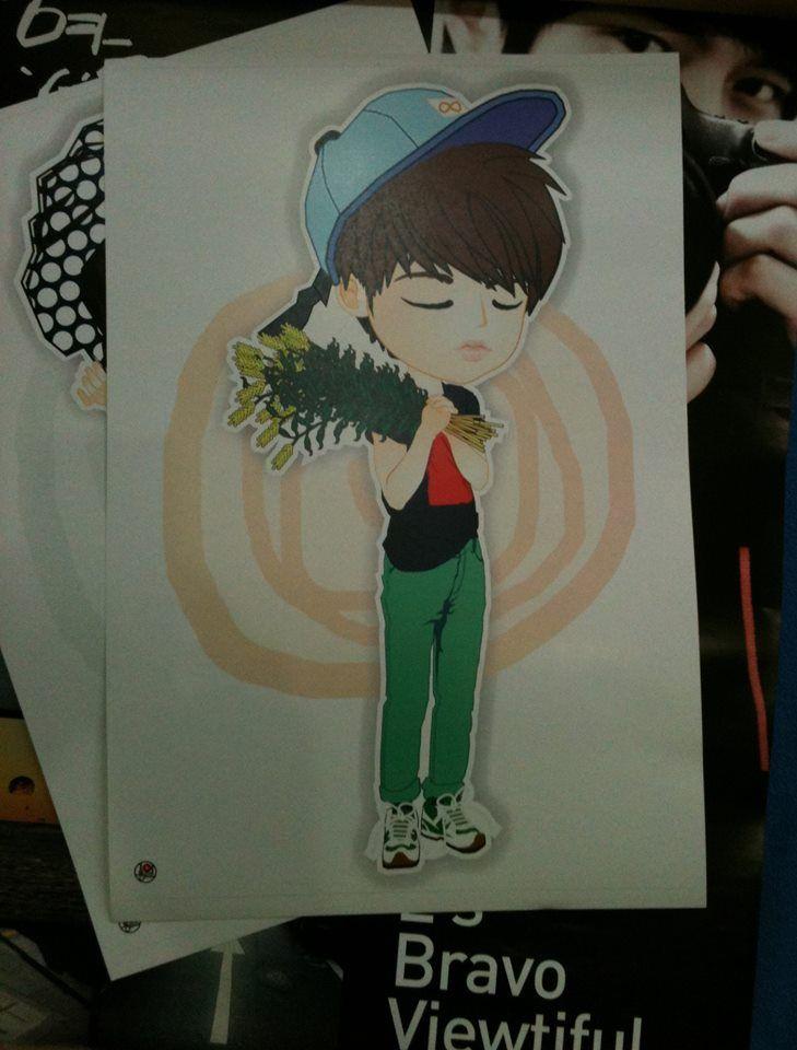 """Poster fanART """"WooHyun"""""""