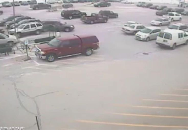 10 Car Accident Leaving Parking Lot