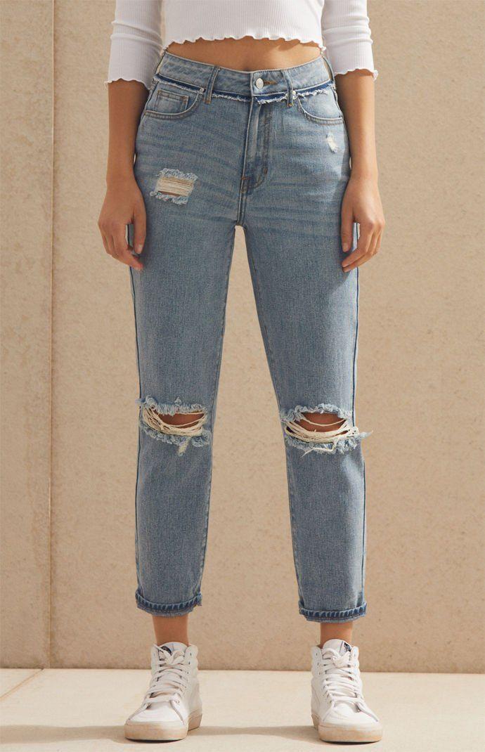 f16e13c72084 PacSun Naomi Mom Jeans at PacSun.com