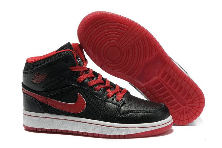 http://www.bigkidsjordanshoes.com/kids-air-jordan-1-phat-black-sport-red-p-274.html KIDS AIR JORDAN 1 PHAT BLACK SPORT RED Only $75.79 , Free Shipping!