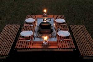 Snowpeak | Itauba | Asian inspired outdoor dining set  #OKLsummer