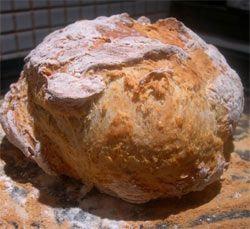 White soda bread with oatmeal recipe